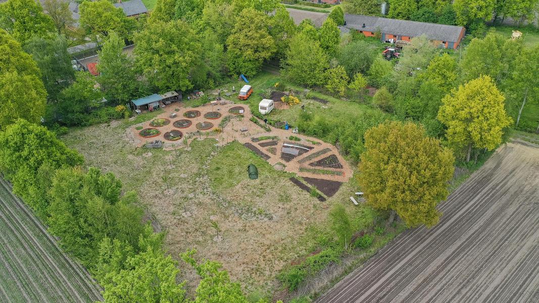 Gemeinschaftsgarten 'Warmoes' in der Nähe der De Molse Seen #3