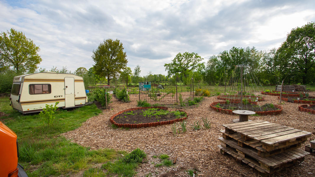 Community garden 'Warmoes' near De Molse lakes #7