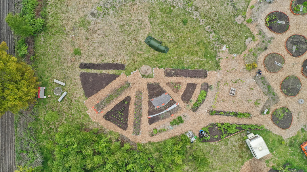 Gemeinschaftsgarten 'Warmoes' in der Nähe der De Molse Seen #9