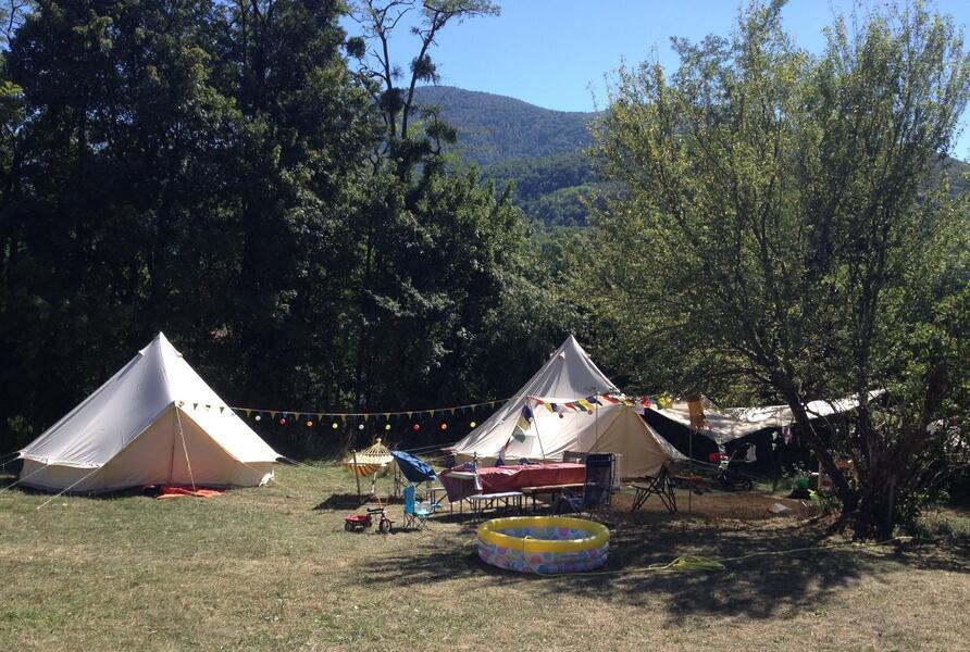 Privat camping Coal Lake