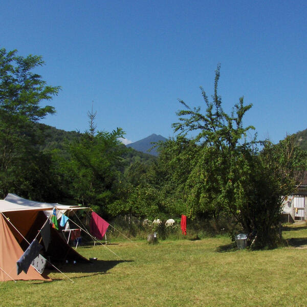 Mini eco campsite at Pyrenees foothills #5
