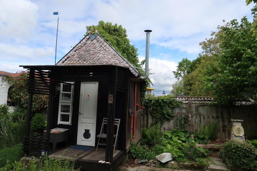 Unique wooden house in beautiful garden #1