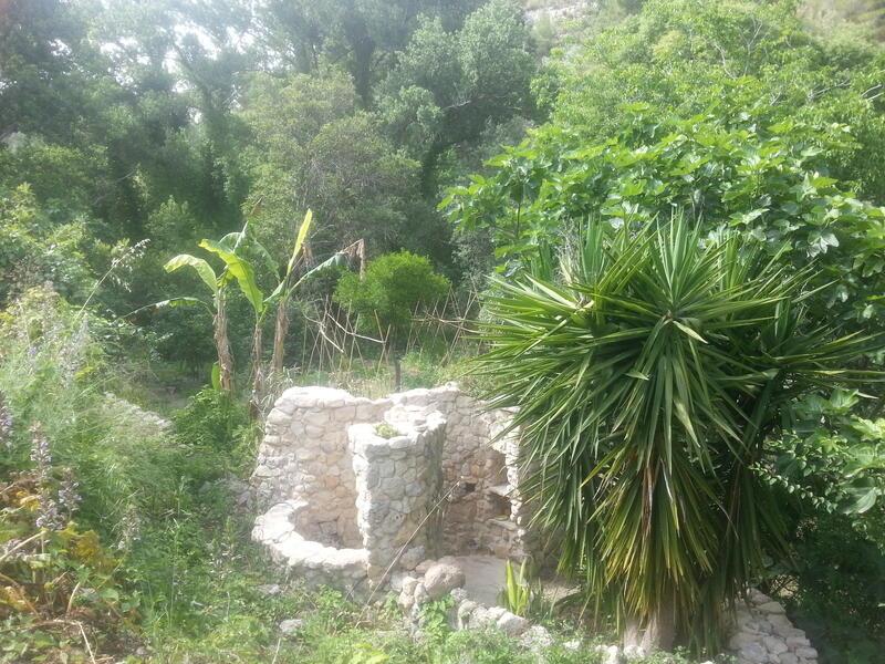 Hidden green valley in south Sicily #1