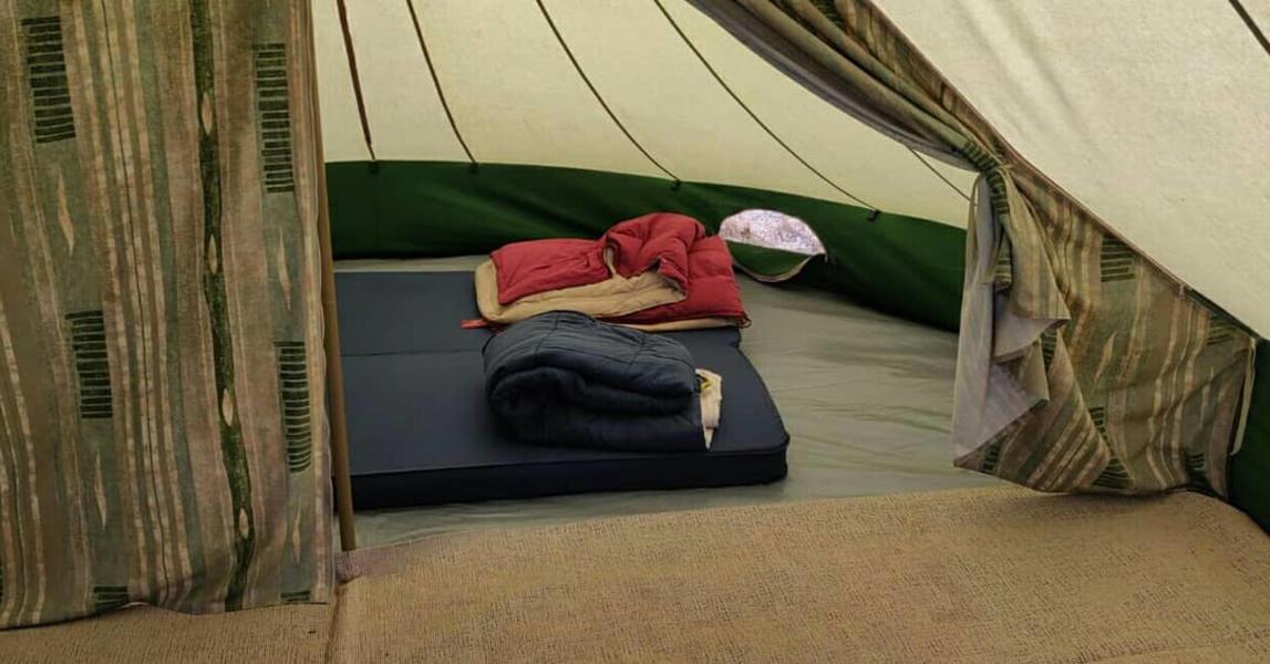 'De Waard' tent for rent at beautiful spot. #2