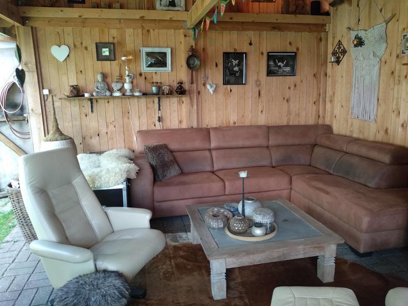 Anneke Panneke's paradise sleeping in our Yvonneke - retro caravan #10