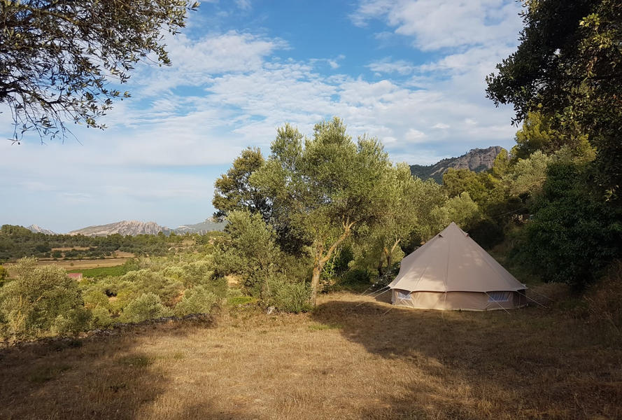 Bell-tent for rent at a spacious spot with beautiful views #2