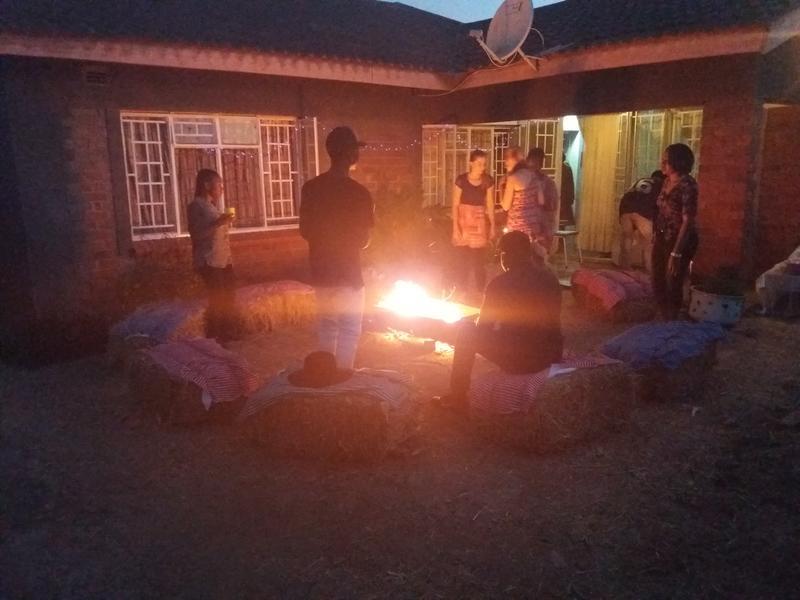 Camp in my yard #1