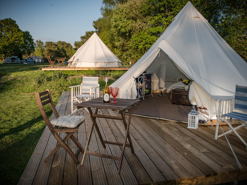 Glamping Bell Tent. Just outside the New Forest and Bournemouth. #1