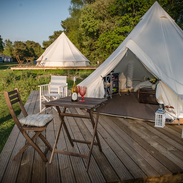 Glamping Bell Tent. Just outside the New Forest and Bournemouth. #3