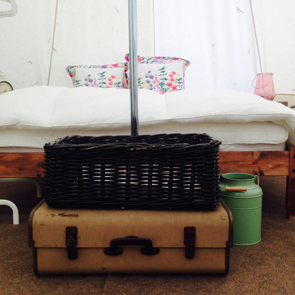 Glamping Bell Tent. Just outside the New Forest and Bournemouth. #5