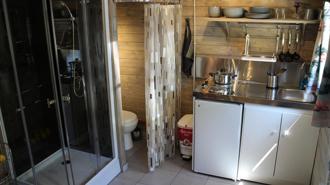 Stay in a 1956 Vintage American Trailer at Silver Streak Holidays #5
