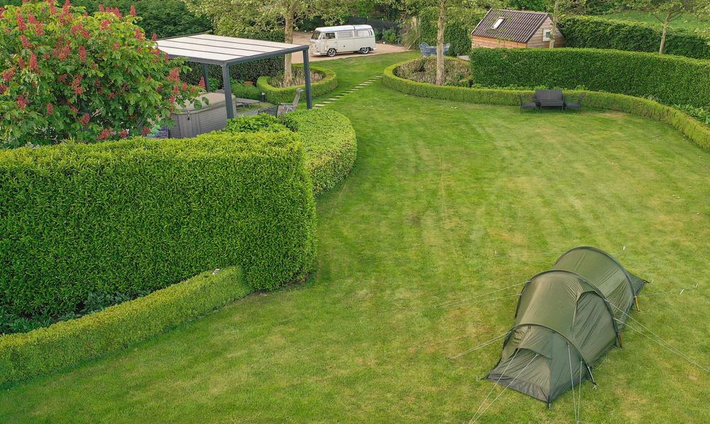 Beautiful green garden next nature place Malesbroek #3