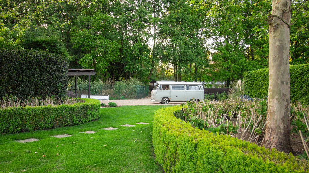 Beautiful green garden next nature place Malesbroek #7