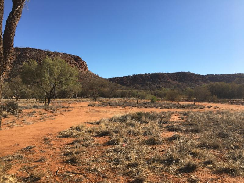 Outback Scenic Mountain View #1