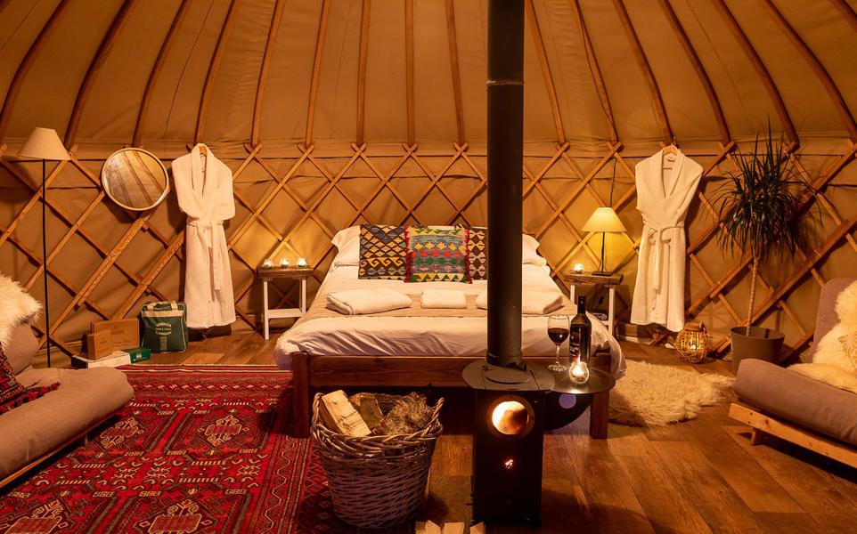 Yurt campspace #9