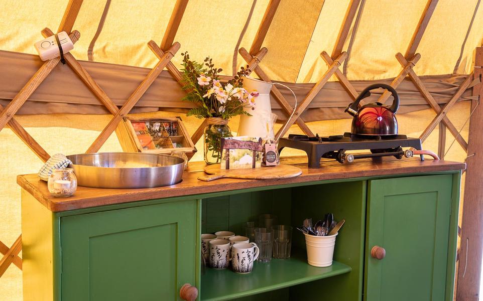 Yurt campspace #10