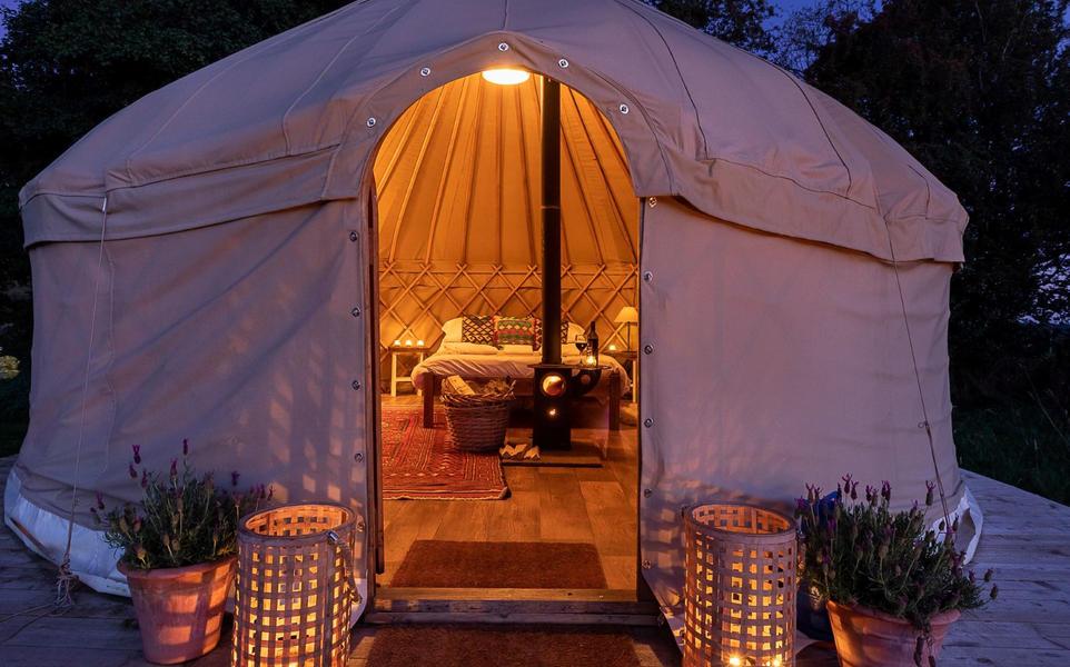 Yurt campspace #12
