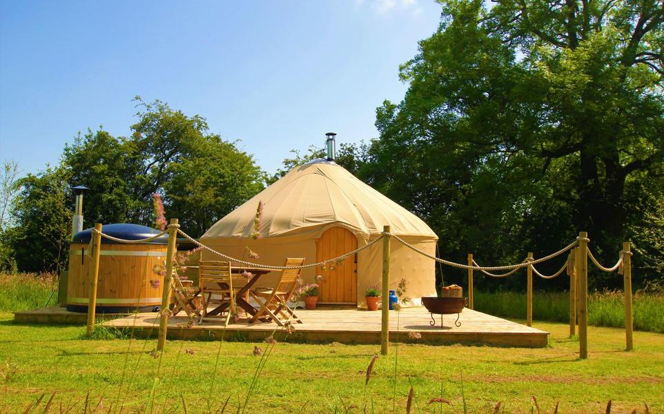 Yurt campspace #1