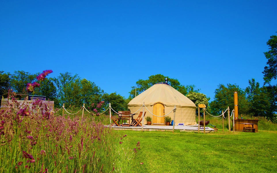 Yurt campspace #2