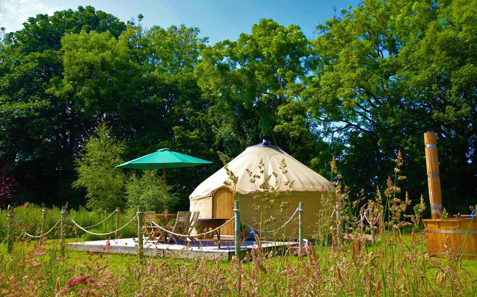 Yurt campspace #3
