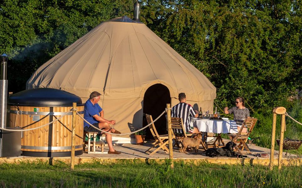 Yurt campspace #4