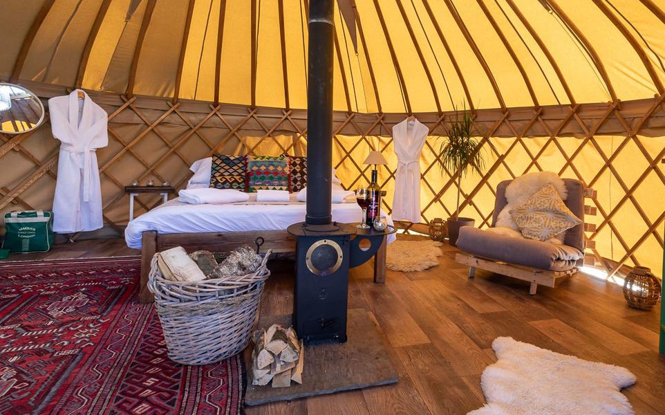 Yurt campspace #8