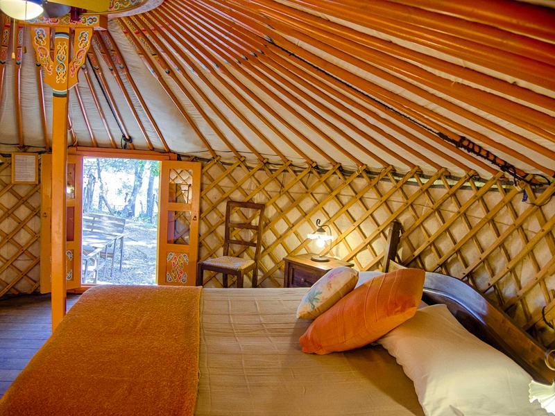Cozy yurt overlooking the Tuscan Coast - Ginestra #1