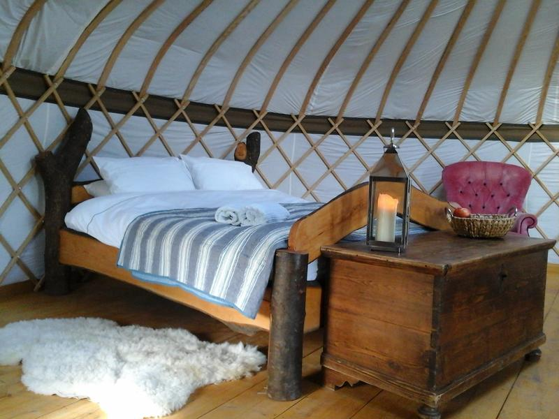 Surrey Hills Yurts #1