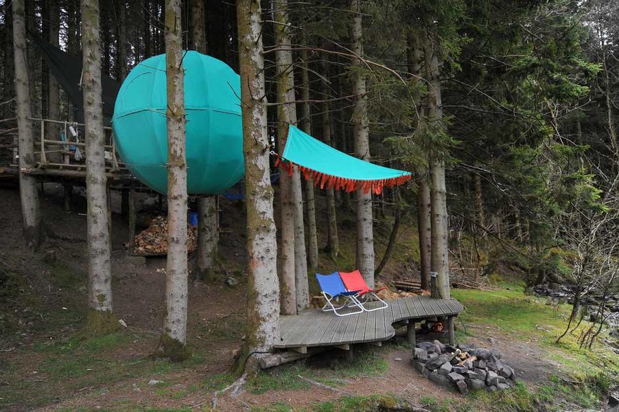 Red Kite Tree Tent #1