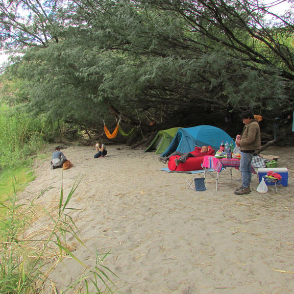 Camping at the side of the river Apurimac #3