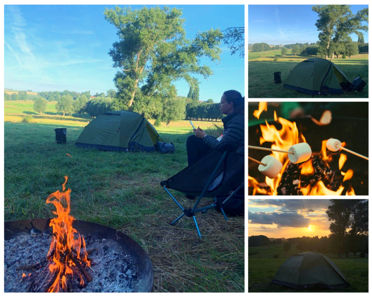 Lovely camping near the Tour of Flanders (Taaienberg) route #5