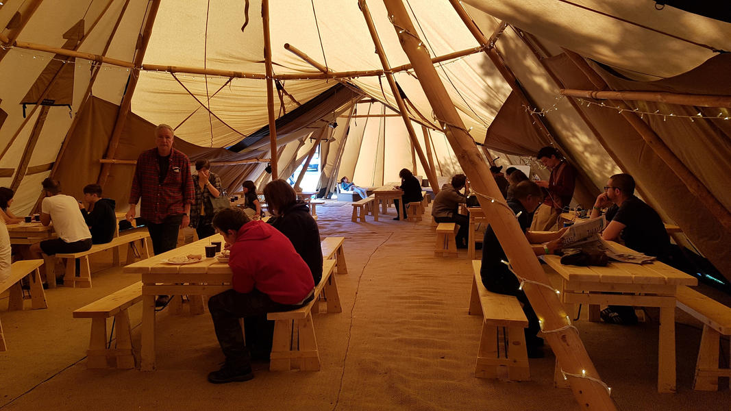 Edinburgh Festival Camping #14