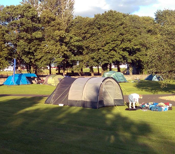 Edinburgh Festival Camping #3