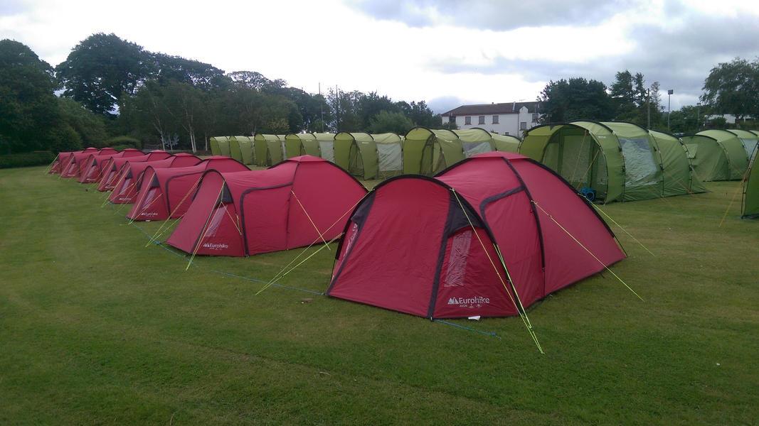 Edinburgh Festival Camping #8