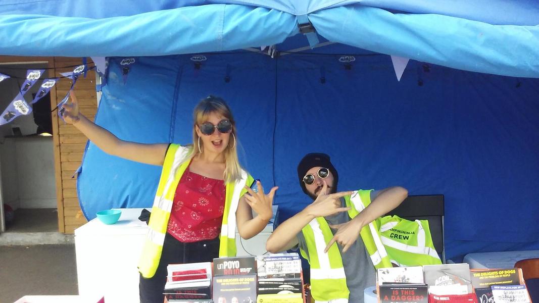 Edinburgh Festival Camping #9