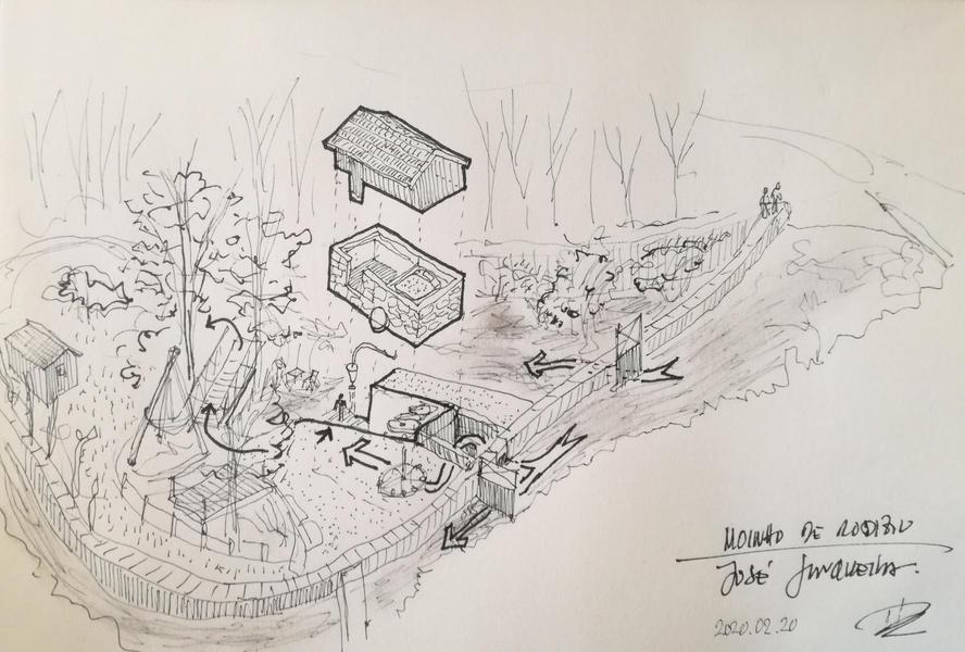 Moinho de Rodizio - Mill #3