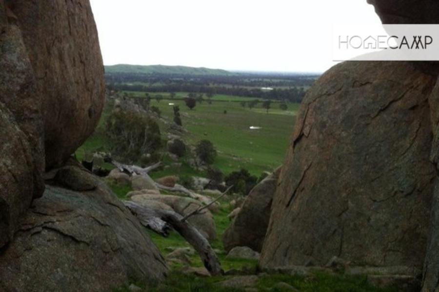 Camping amongst amazing Granite rocks or creek #4