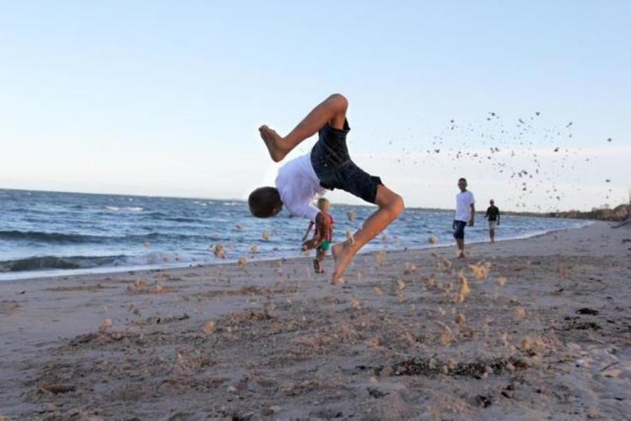 Burrum on the beach #3