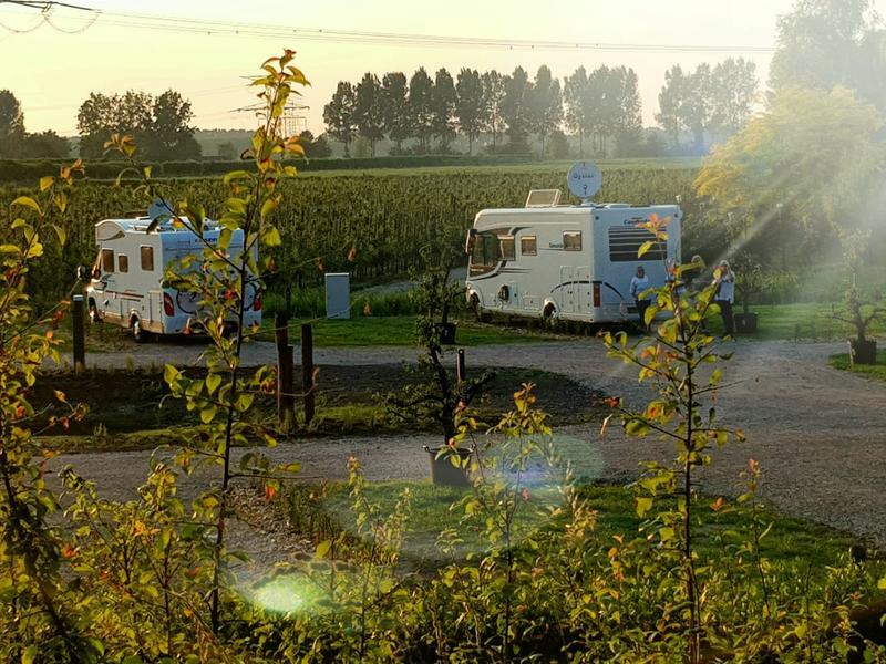 Camper camping in nature #1