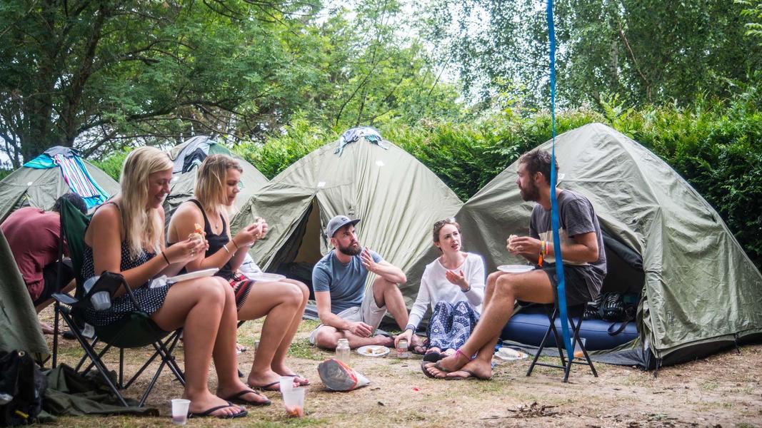 Beach Campspace #2