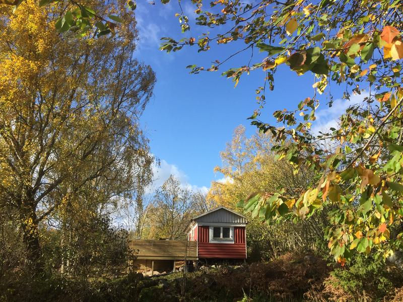 Caravan in the Swedish country side near lakes and forests #3