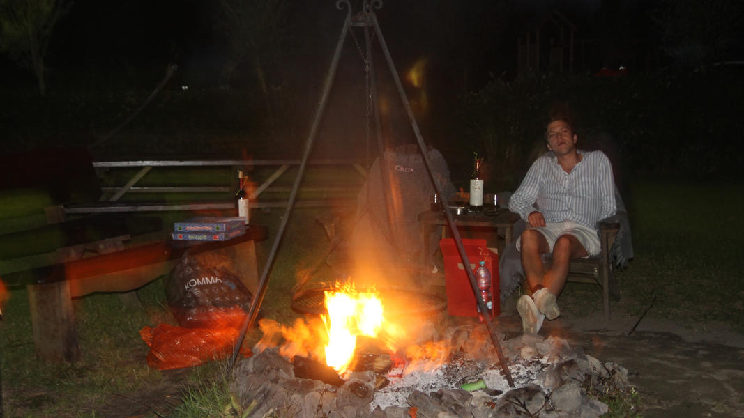 Mini campsite on the estate with swimming pond and fire places. 2ha walking area. #38