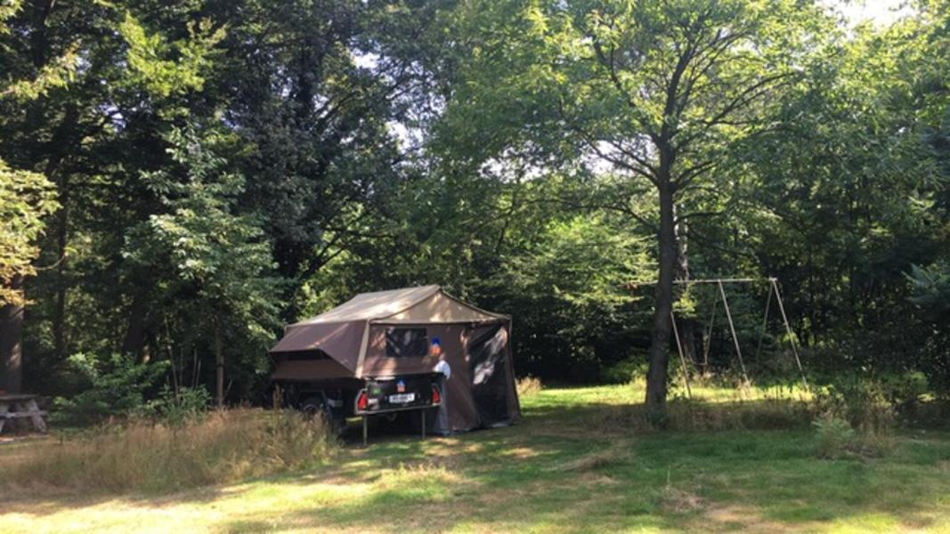 Tent staat klaar. Privé kamperen in hartje Vechtdal #1