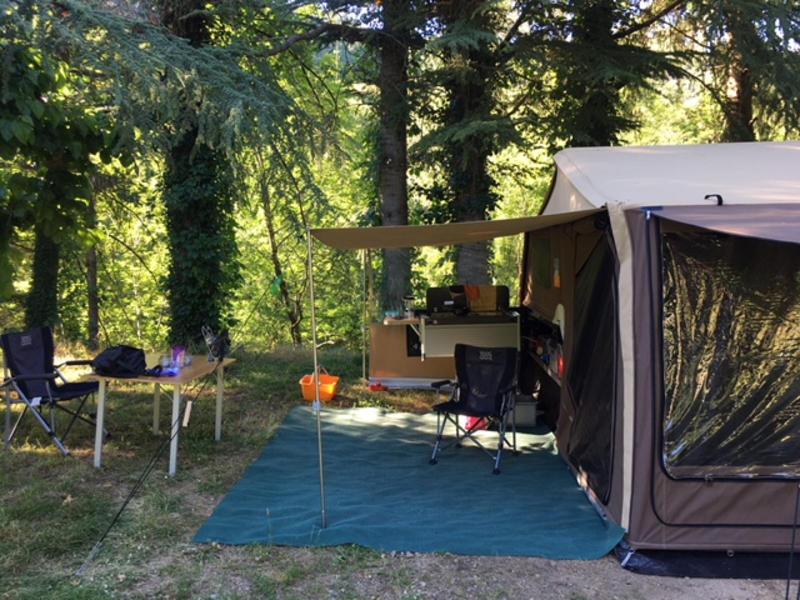 Tent staat klaar. Privé kamperen in hartje Vechtdal #2