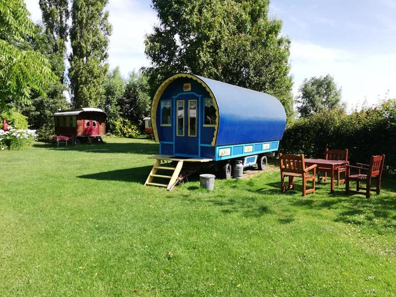 Woonwagen campspace in Drenthe #9