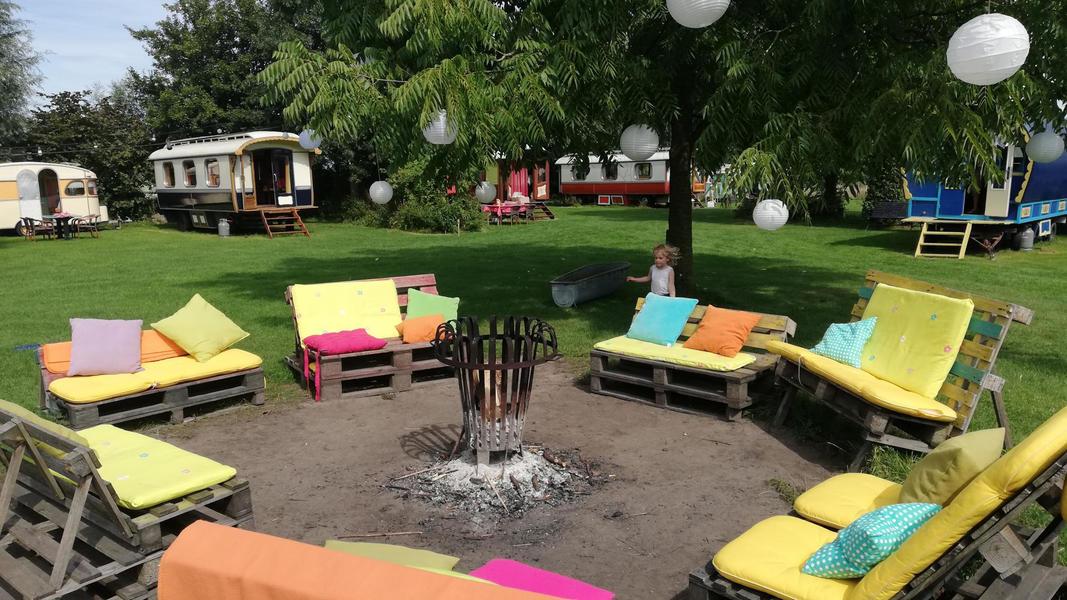 Woonwagen campspace in Drenthe #11