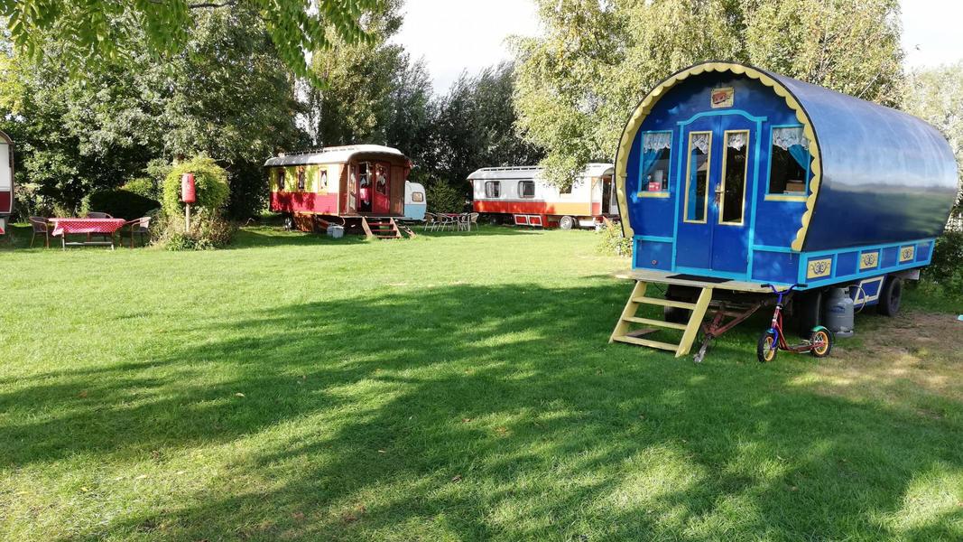 Woonwagen campspace in Drenthe #12