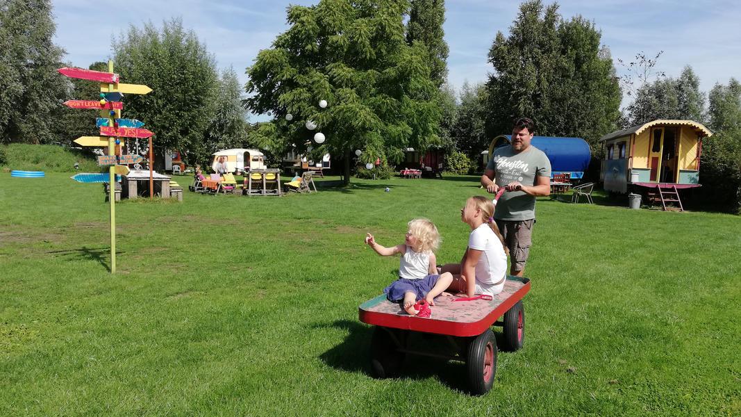 Woonwagen campspace in Drenthe #14