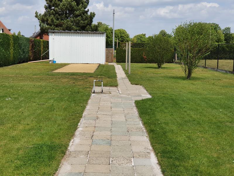 Grote achtertuin in Bosland (Belgisch Limburg). #1