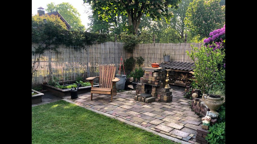 Knusse achtertuin op steenworp afstand van het natuurgebied en dichtbij Amsterdam #2
